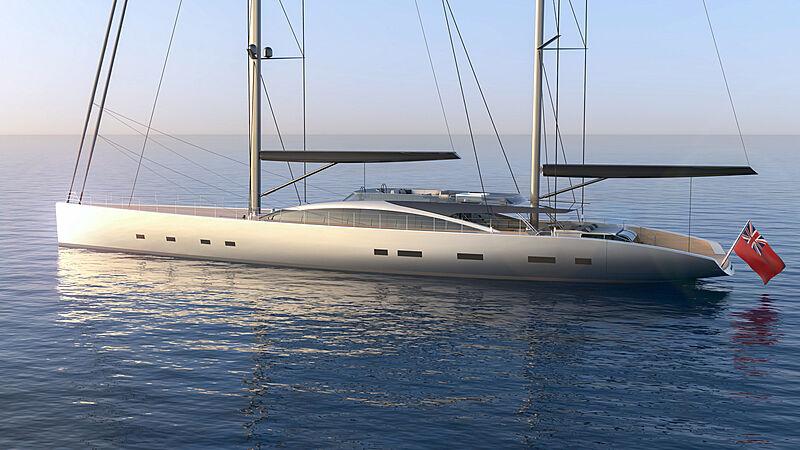 55m Dixon Yacht Design concept Project 175