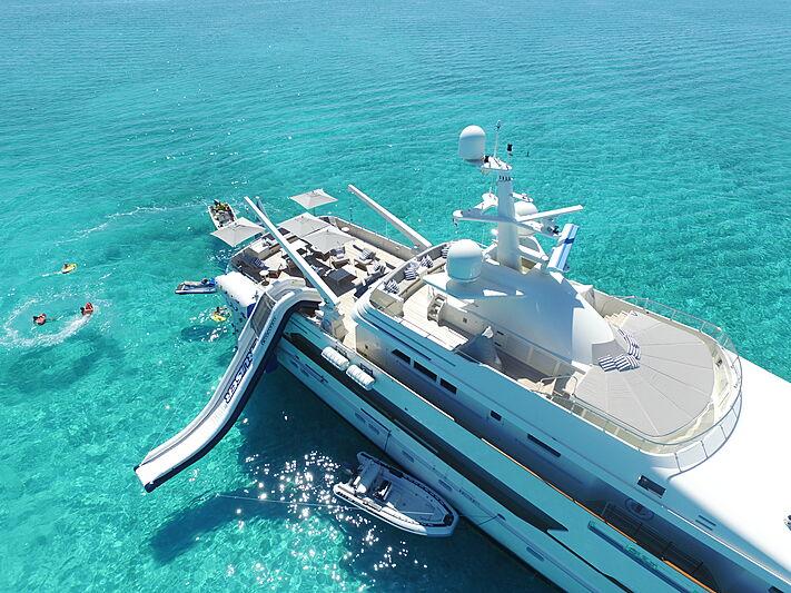 BG yacht aerial