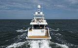 Totally Nuts yacht by Feadship on sea trials