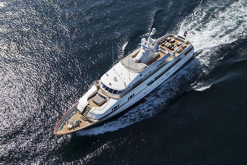 BG yacht Feadship