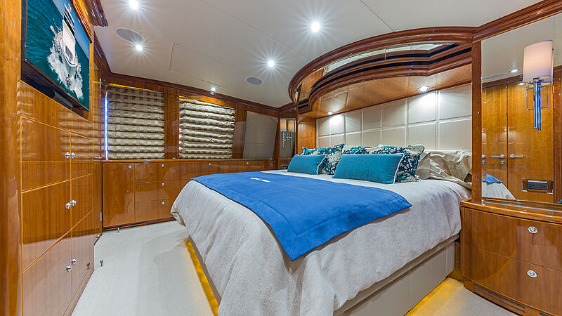 High Rise yacht stateroom