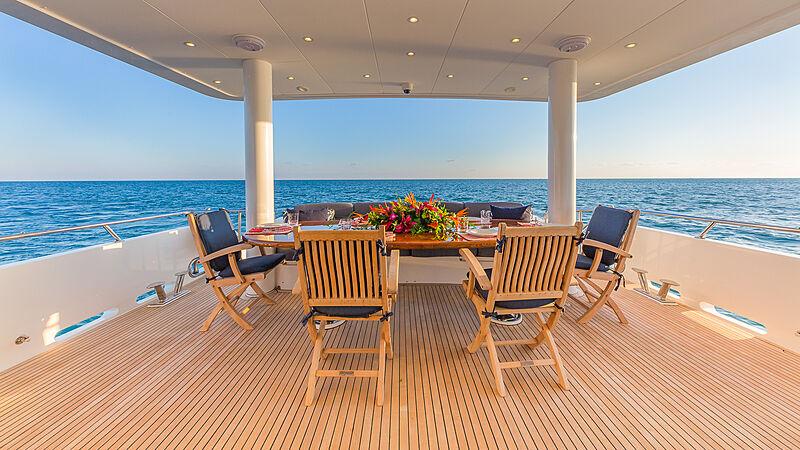 High Rise yacht deck