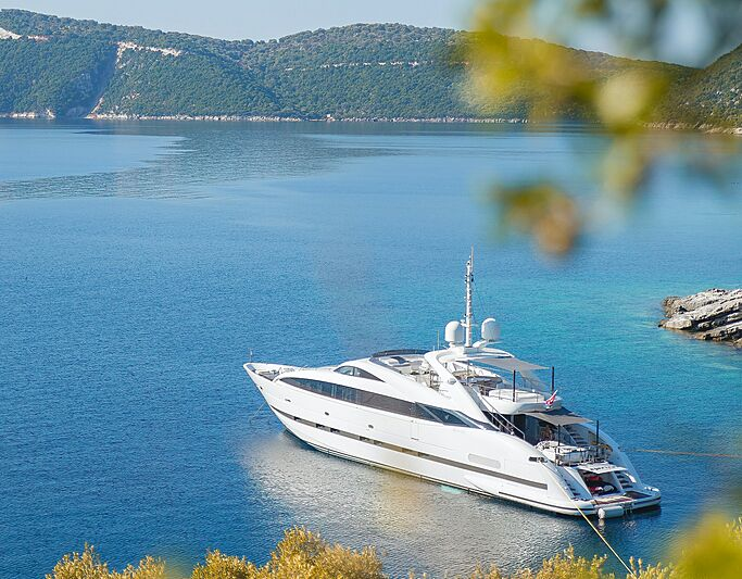 Clorinda yacht by ISA Yachts in Corfu, Greece