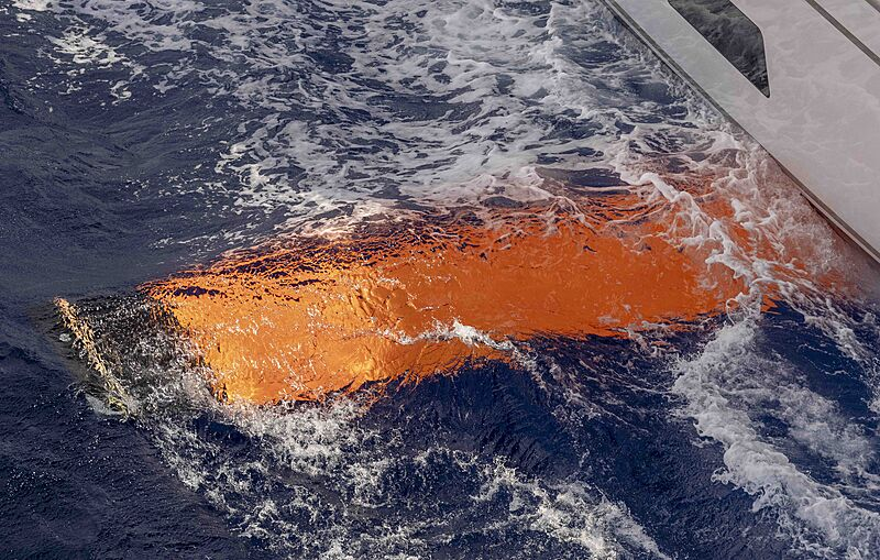 Canova yacht rudder