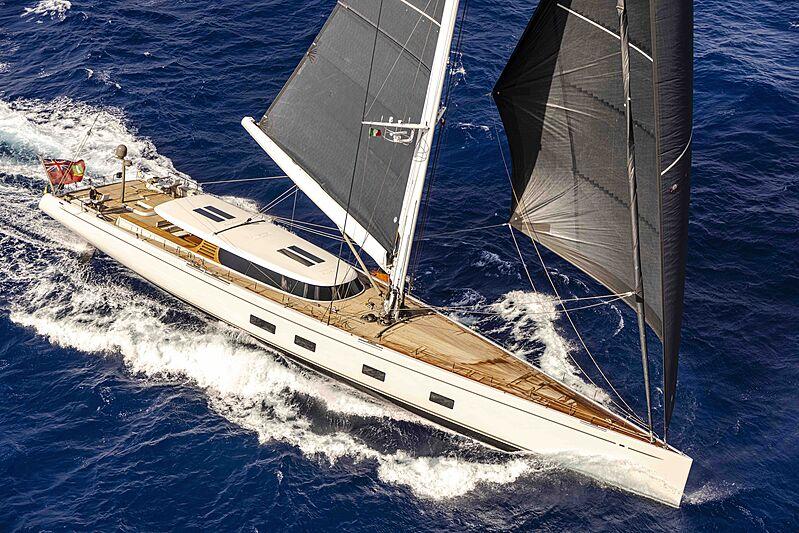Canova yacht cruising