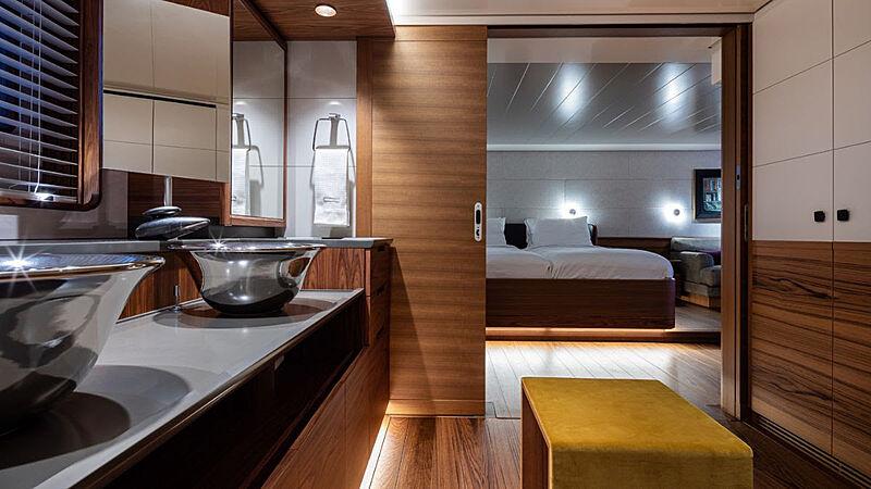 Canova yacht bathroom/stateroom