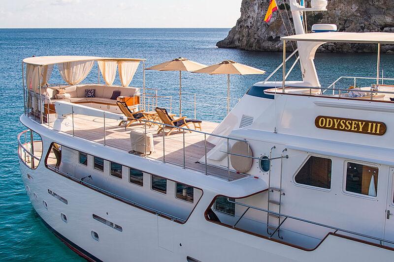 Odyssey III yacht exterior