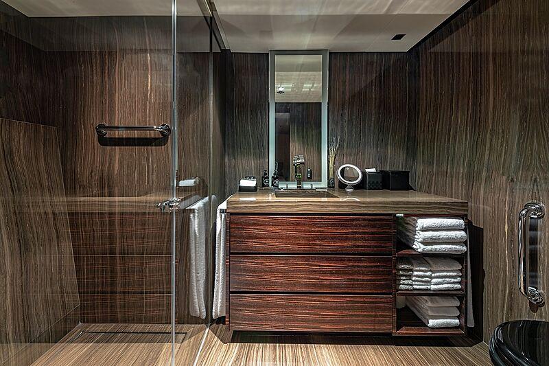 Odessa yacht bathroom