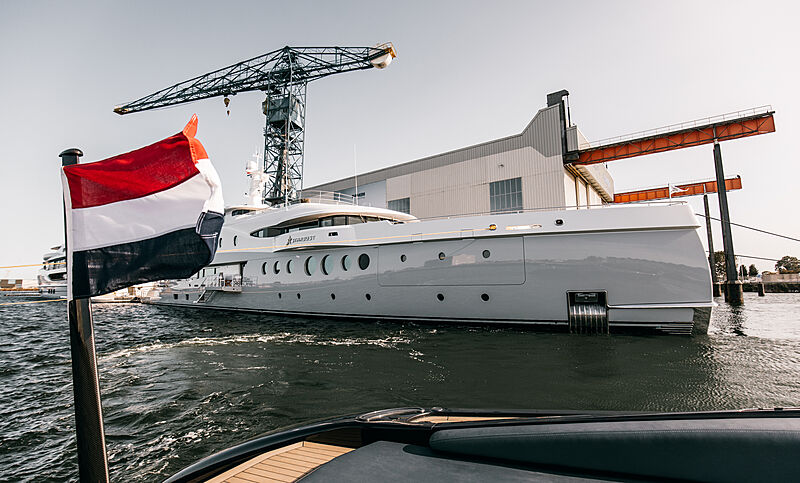 Stardust yacht at Damen Private View Event 2020