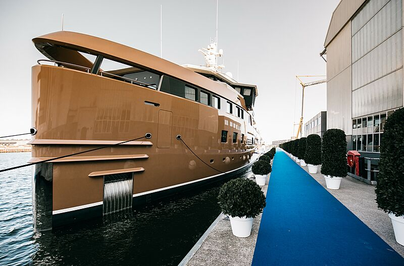 La Datcha yacht at Damen Private View Event 2020