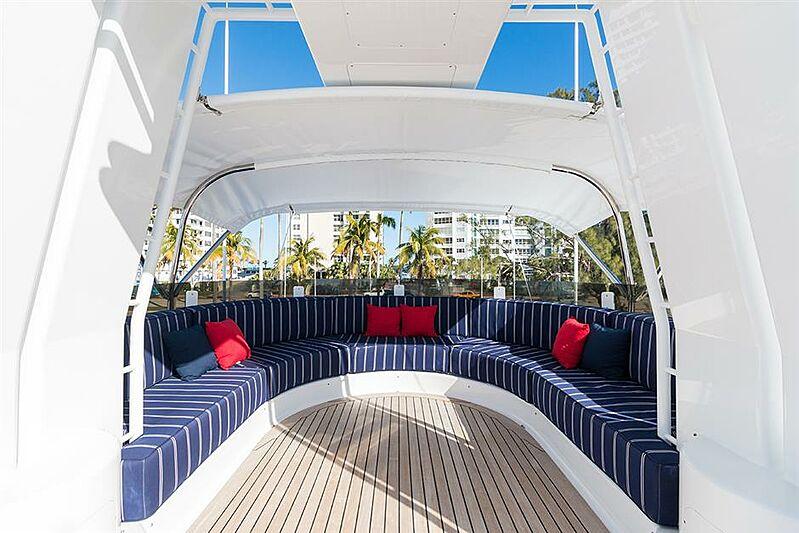 She's A 10 yacht deck