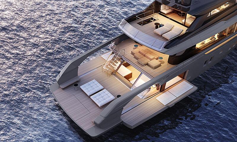Sanlorenzo SX112 yacht exterior design