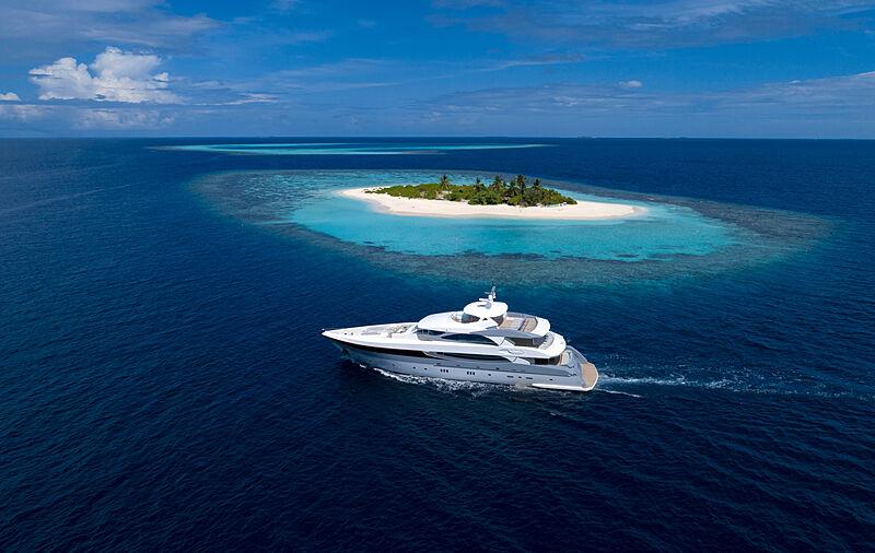 38m Searex yacht cruising
