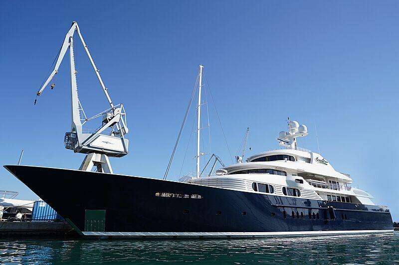Cocoa Bean yacht refit at Astilleros de Mallorca