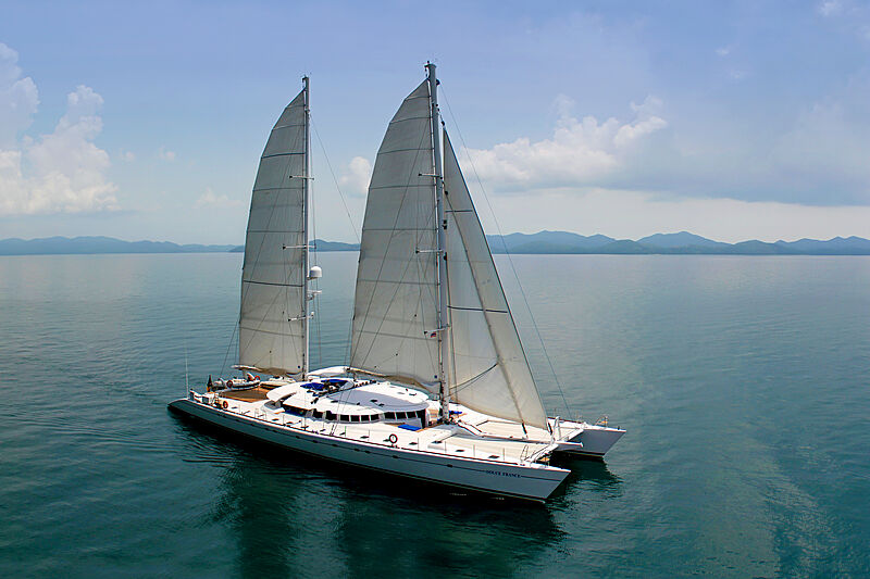 Douce France yacht cruising