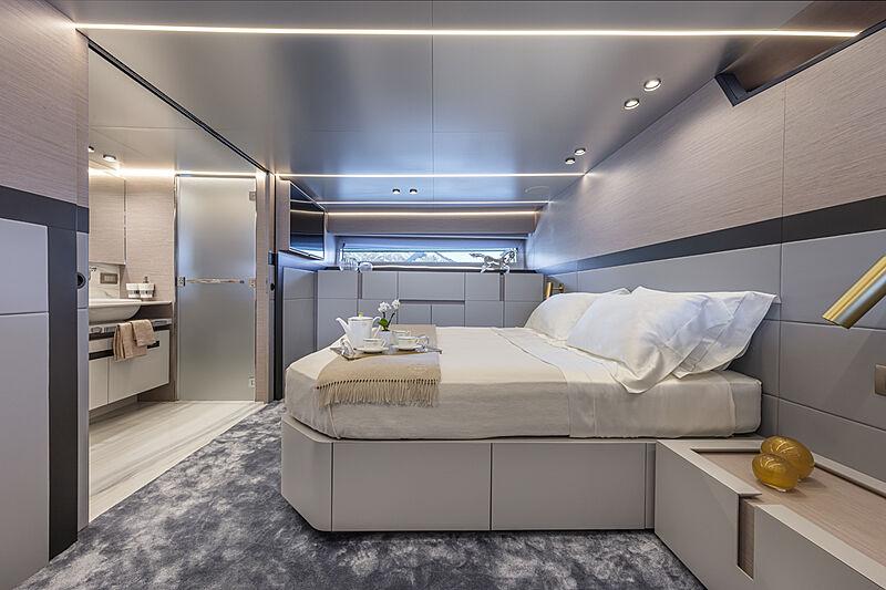 Haze yacht stateroom