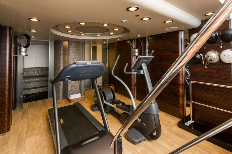 Benetti M/Y Air gym