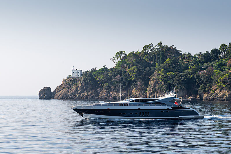 Walindi yacht by Leopard Yachts in Portofino