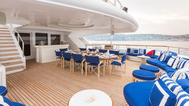 Benetti M/Y Air upper deck
