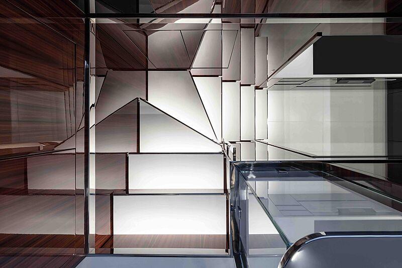Riva Folgore 88 yacht stairs