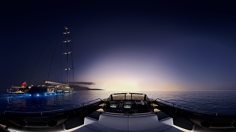 Apex 850 sailing yacht concept by Royal Huisman and Malcolm McKeon