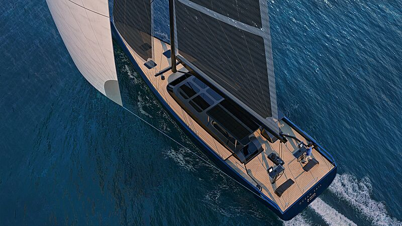 Ocean Sail 82 model exterior design