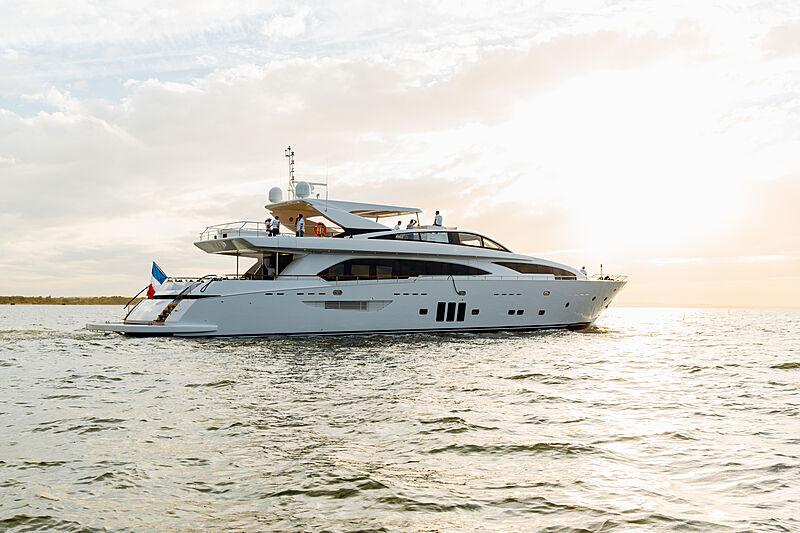 Millesime yacht cruising