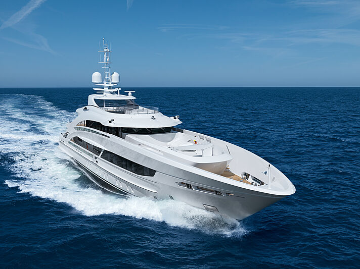 Triton yacht cruising