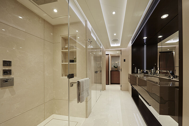 Triton yacht bathroom