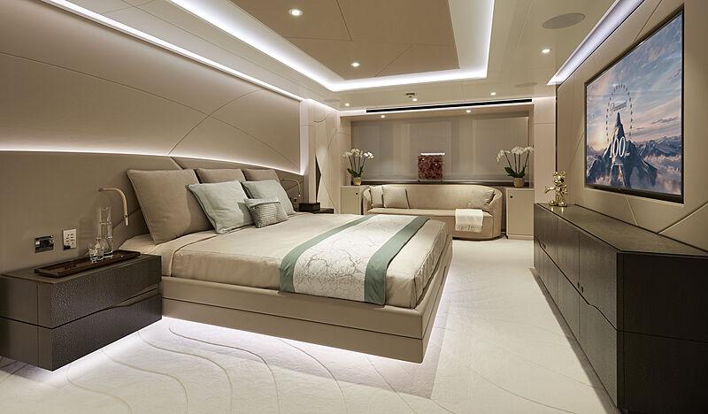 Triton yacht stateroom