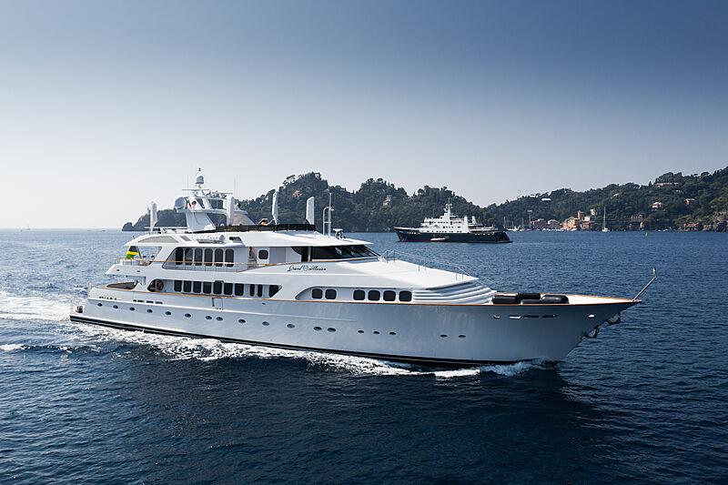 Grand Illusion yacht by Palmer Johnson in Portofino