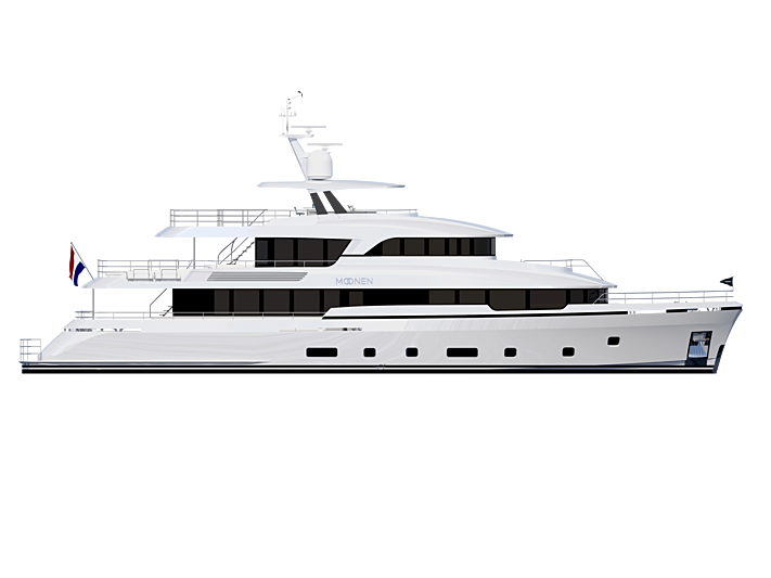 Moonen Martinique #03 yacht profile rendering
