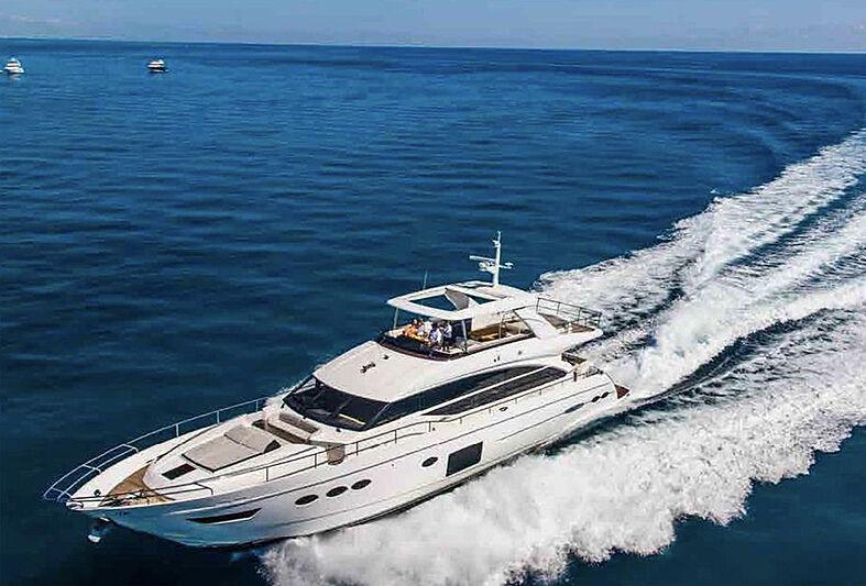 Aqua Chameleon yacht cruising