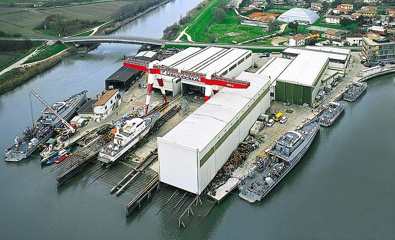 Vittoria Yachts shipyard