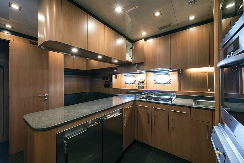 Danush yacht galley