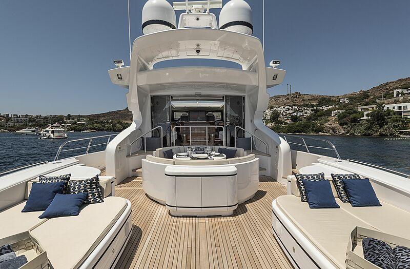 Danush yacht deck