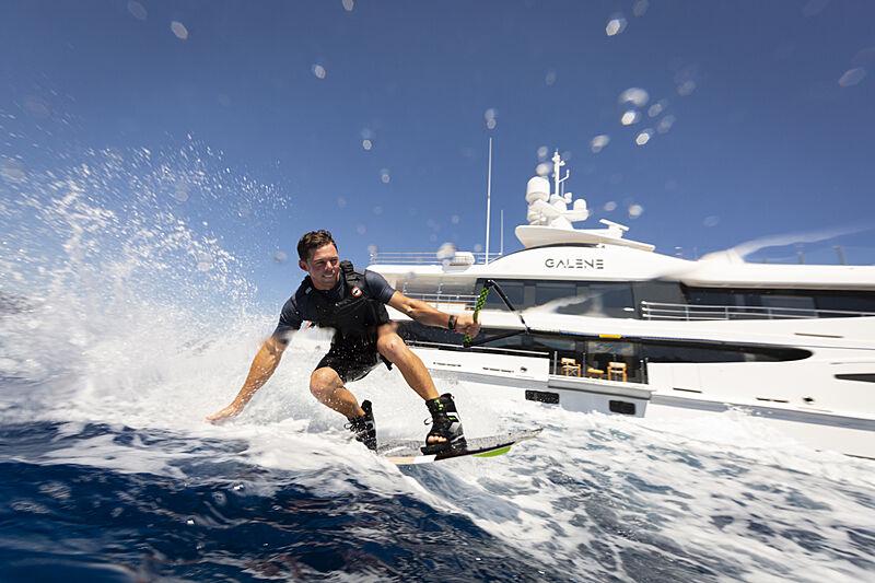 Galene yacht lifestyle