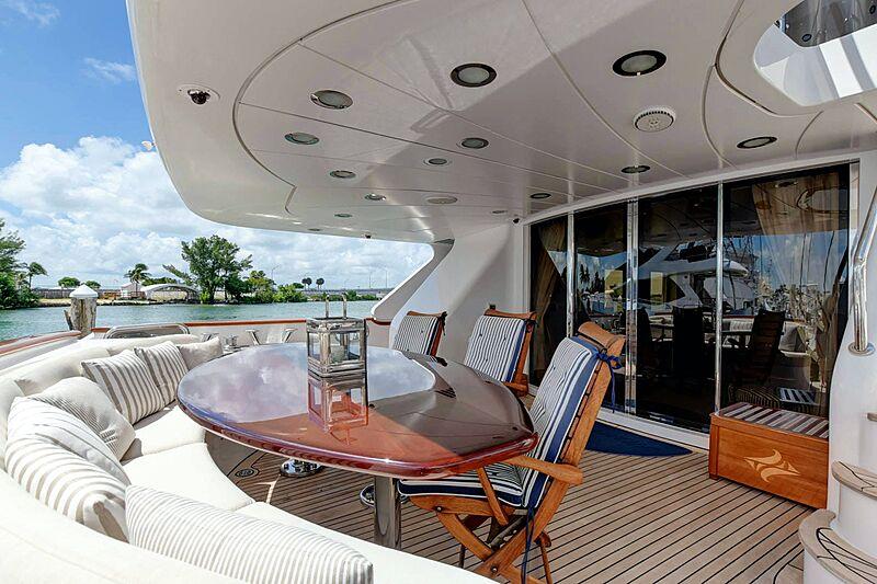 Paradigm yacht deck