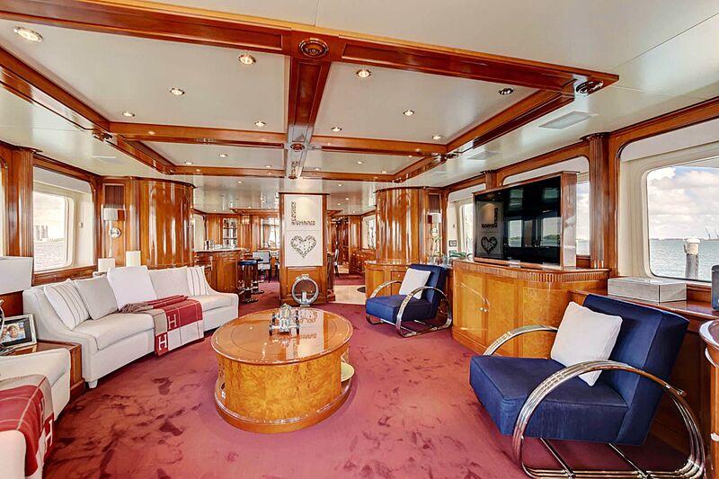 Paradigm yacht saloon