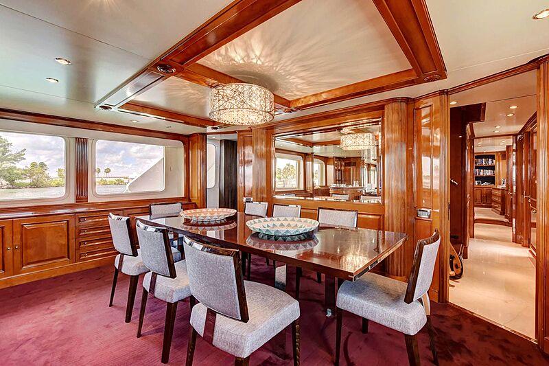 Paradigm yacht dining