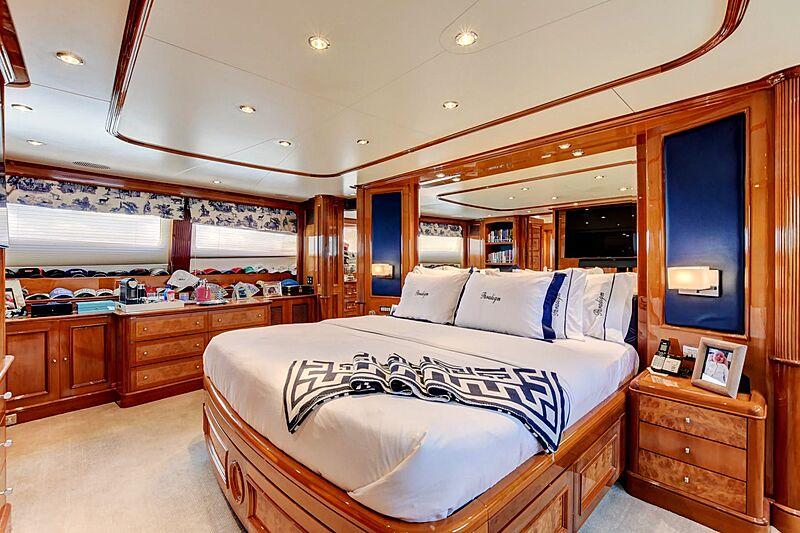Paradigm yacht stateroom