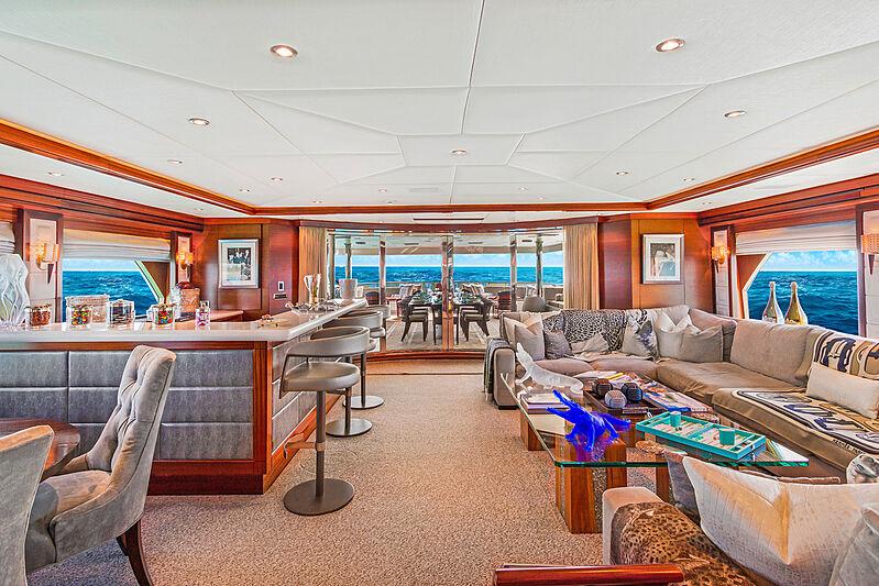 Ocean Club yacht saloon