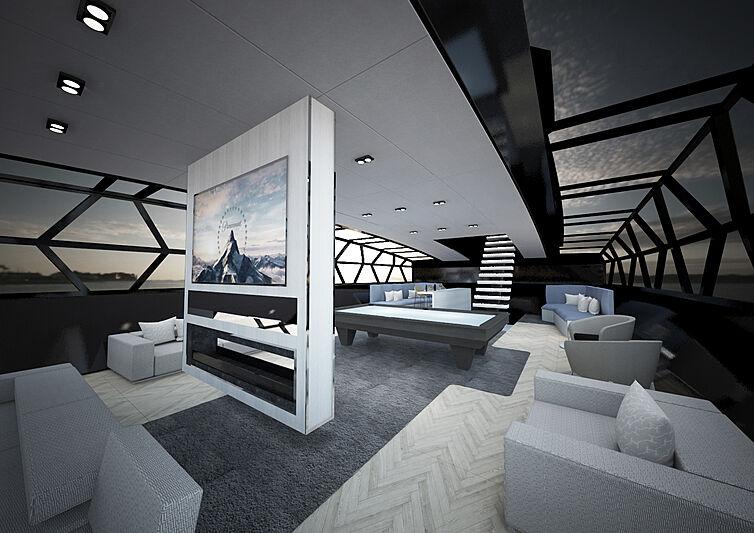 Event Horizon yacht concept by Marco Casali Design