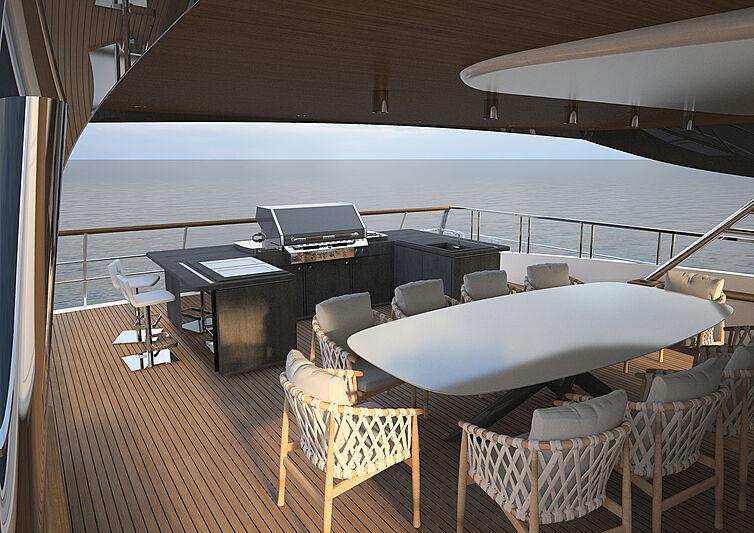 Beach Runner yacht concept by Marco Casali Design