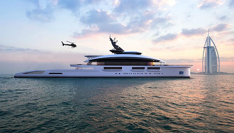 Ocean Odyssey yacht concept by Marco Casali Design