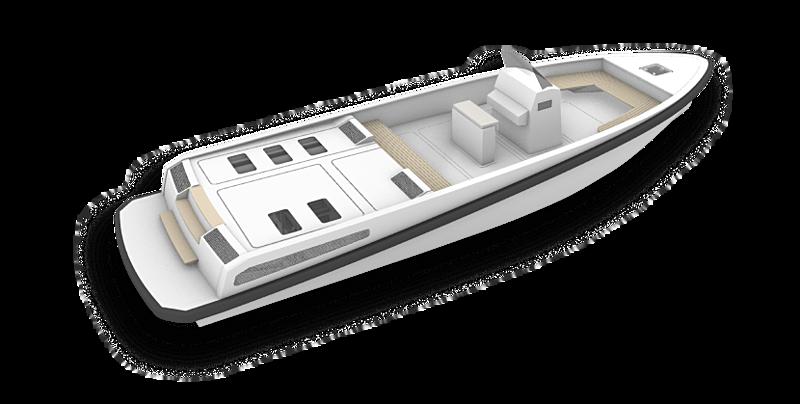 HYNOVA 40 tender Hynova Yachts
