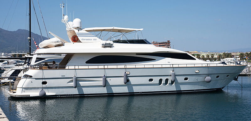 D'ARISTOTELIS yacht Canados