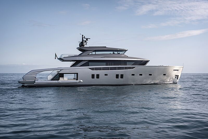 Sanlorenzo SX112 yacht by Sanlorenzo with open beach club