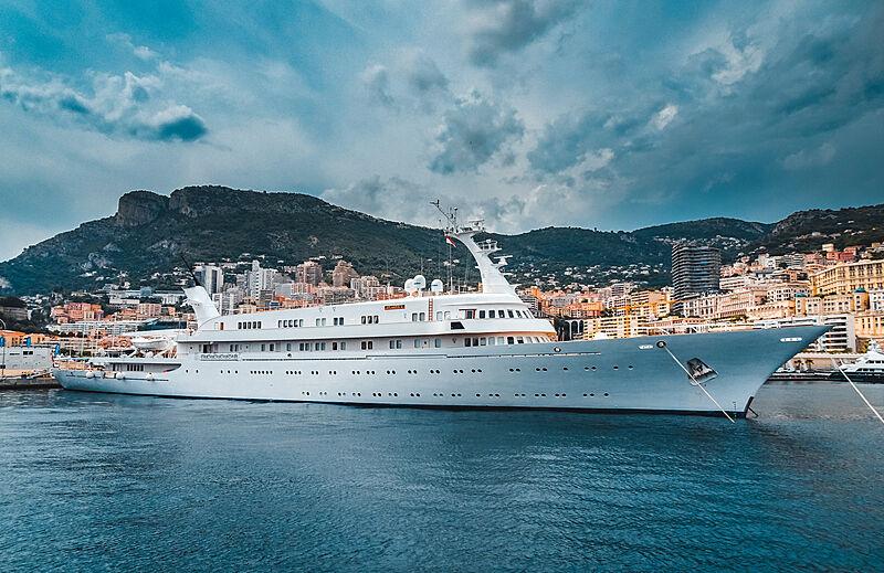 Atlantis II yacht in Monaco