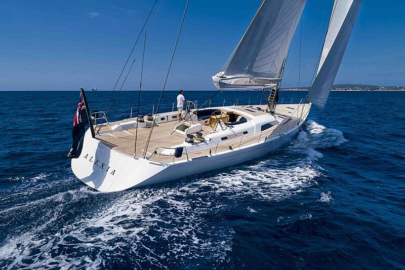 Alexia yacht cruising